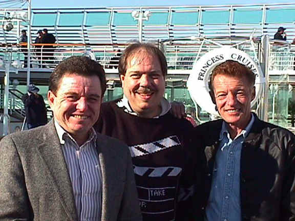 Jerry Mather, Pat Appleson, Ken Osmond