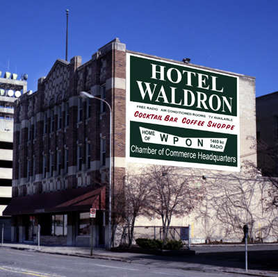 Hotel Waldron, Pontiac, Michigan